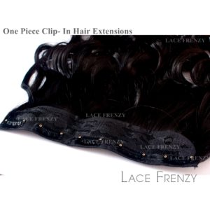 one piece clip-in hair extensions