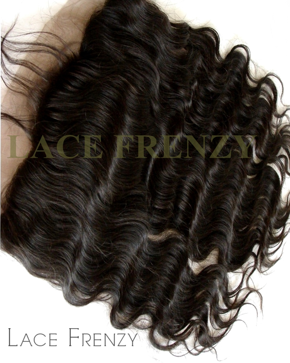 Body Wave -Virgin Human Hair - Silk Base 360 Lace Frontal