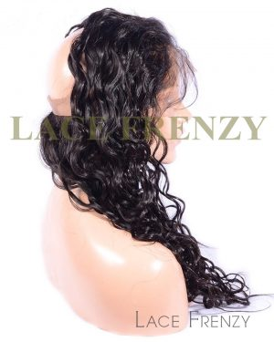 Virgin Human Hair - Curly- 360 Band Lace Frontal