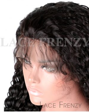 Kylia- Deep Curly - Brazilian Virgin Human Hair - Silk Top Full Lace Wig