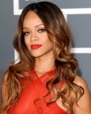 Rihanna- Ombre' Loose Wave - Celebrity Custom Lace Wig