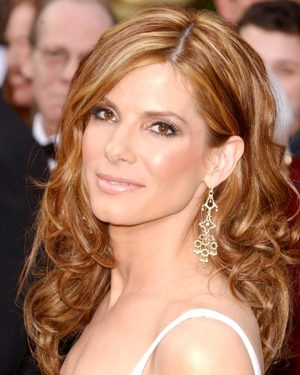 Sandra Bullock- Loose Curl - Celebrity Custom Lace Wig