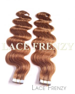 Virgin Human Hair - Body Wave- 40Pcs -Tape Hair Extension