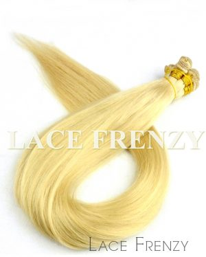 European Virgin Hair - Silky Straight - Hand Tied Wefts