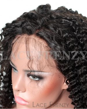 Janelle- Kinky Curly - Peruvian Virgin Hair -Full Lace Wig