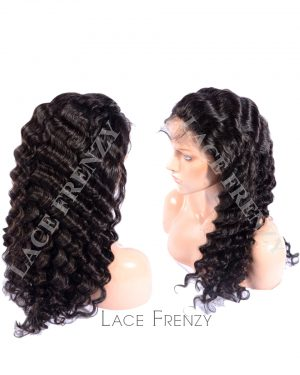 Royanne - Malaysian Virgin Hair - Deep Wave - Full Lace Wig
