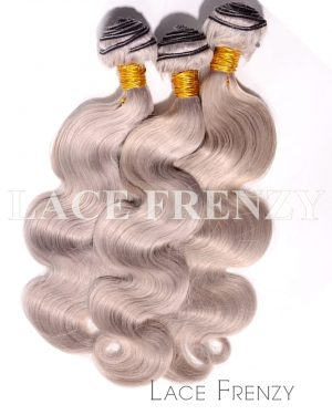 Virgin Human Hair -Body Wave - Layered Machine Weft Bundle Kit