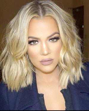 Khloe Kardashian- Layered Bob - Custom Celebrity Lace Wig