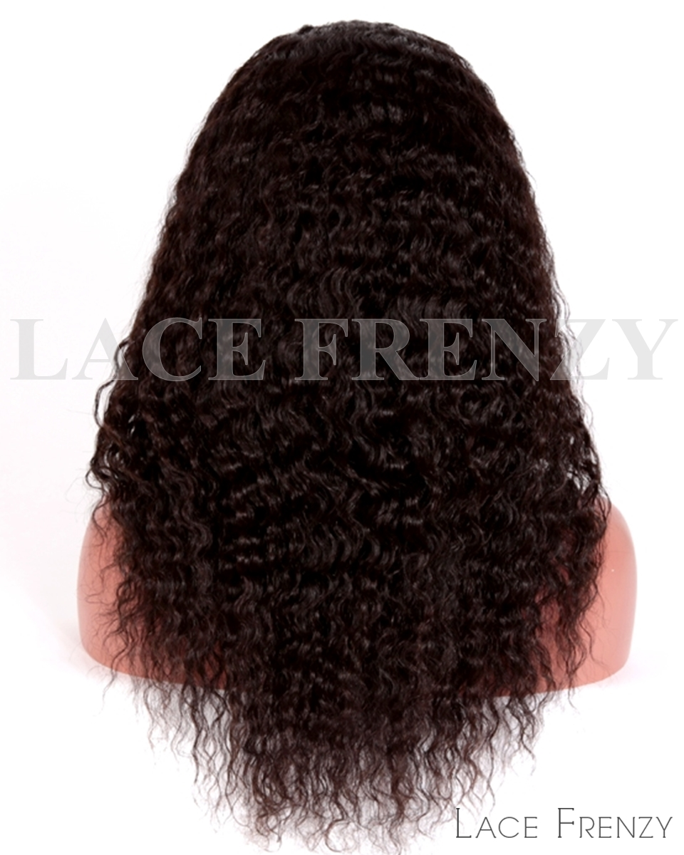 Virgin Human Hair - Spanish Wave- Full Thin Skin Wig
