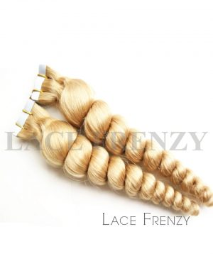 Virgin Human Hair - Loose Wave- 40Pcs -Tape Hair Extension