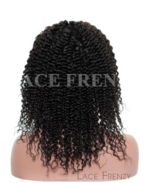 Eliana- Deep Curly - Brazilian Virgin - Silk Top Lace Front Wig