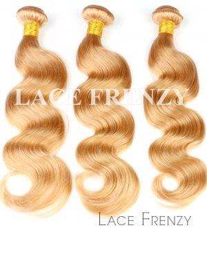 Virgin Human Hair - Body Wave Honey Blonde Layered Bundle Hair