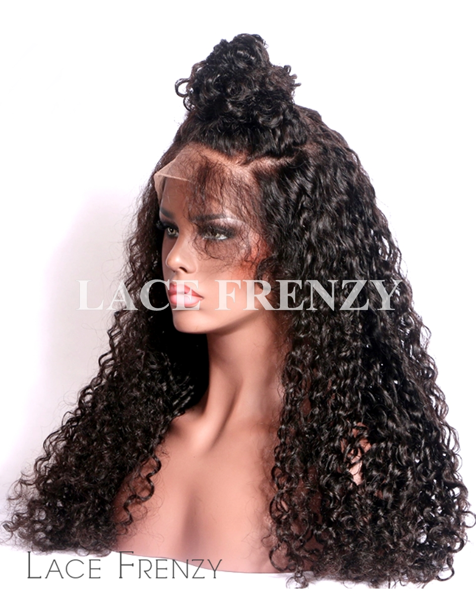 Daphnie- Curly - Virgin Human Hair - Silk Top Full Lace Wig