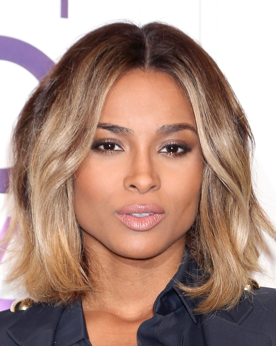 Ciara - Two Toned Bob Cut - Custom Celebrity Lace Wig