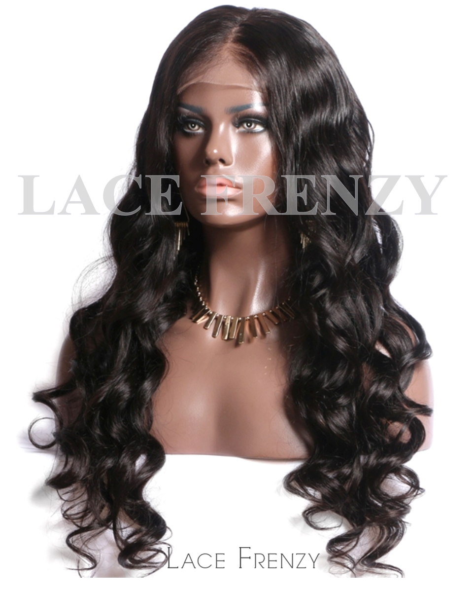 Shera- Loose Curls - Virgin Human Hair - Silk Top Full Lace Wig