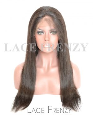 Brazilian Virgin Human Hair -Straight - 360 Frontal Wig