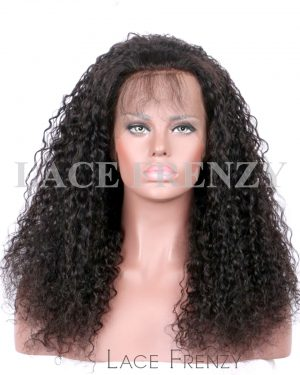 Brazilian Virgin Human Hair -Wet and Wavy- 360 Frontal Wig