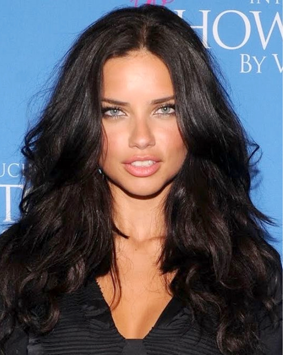 Adriana Lima Slight Wave - Celebrity Custom Lace Wig