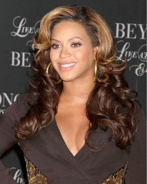 Beyonce- Two Toned Body Curl - Custom Celebrity Lace Wig