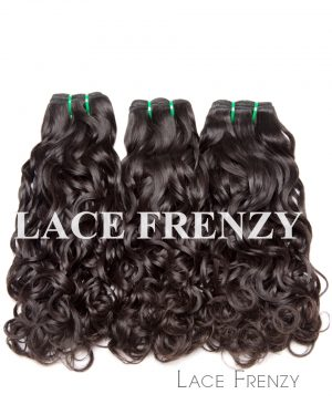 Malaysian Virgin Human Hair - Water Wave -Layered Bundle Hair