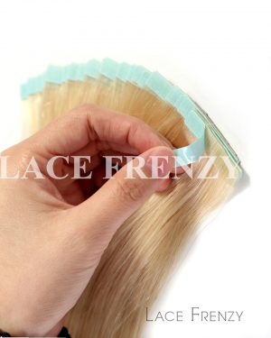 Virgin Human Hair - Blonde - 20Pcs -Tape Hair Extension