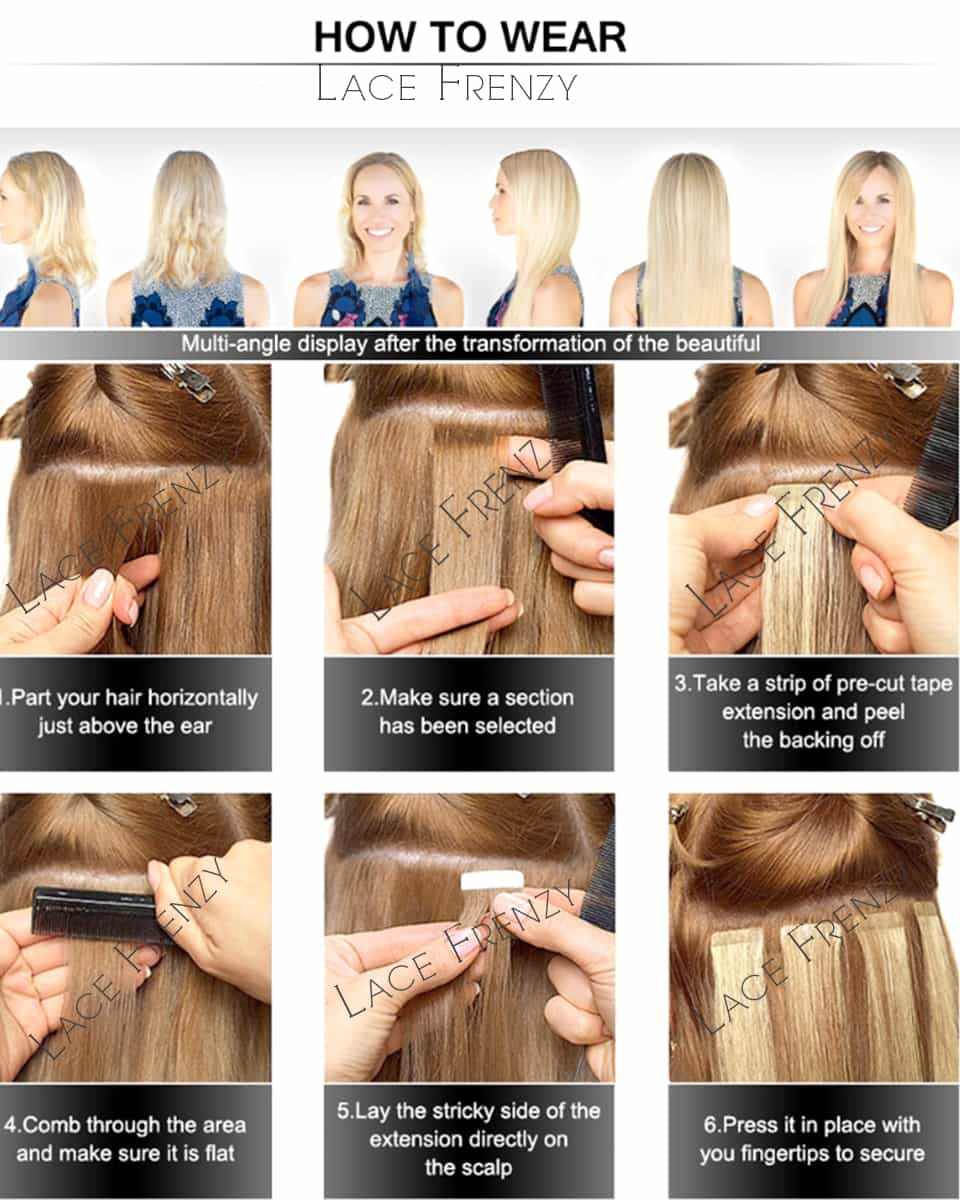 How To Wear Hair Extensions Spefashion