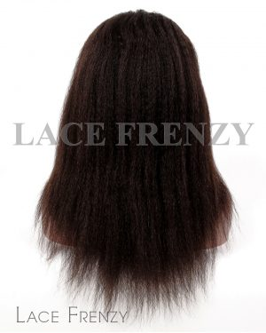 Jannah- Kinky Straight- Indian Virgin Hair- Glueless Lace Wig