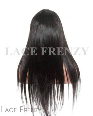 Virgin Human Hair Straight Silk Base 360 Frontal Wig