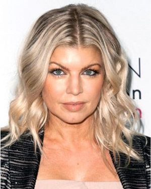 Fergie - Wavy Bob Cut- Custom Celebrity Lace Wig