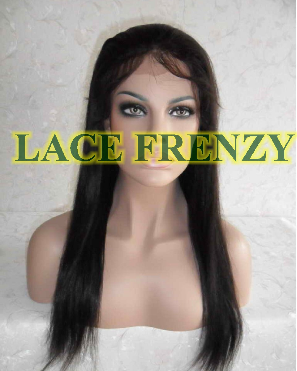 Rielle - 20 Inches - Indian Remy Hair - Silky Straight - Lace Front Wig