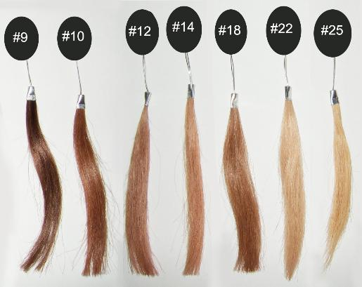 hair color chart b