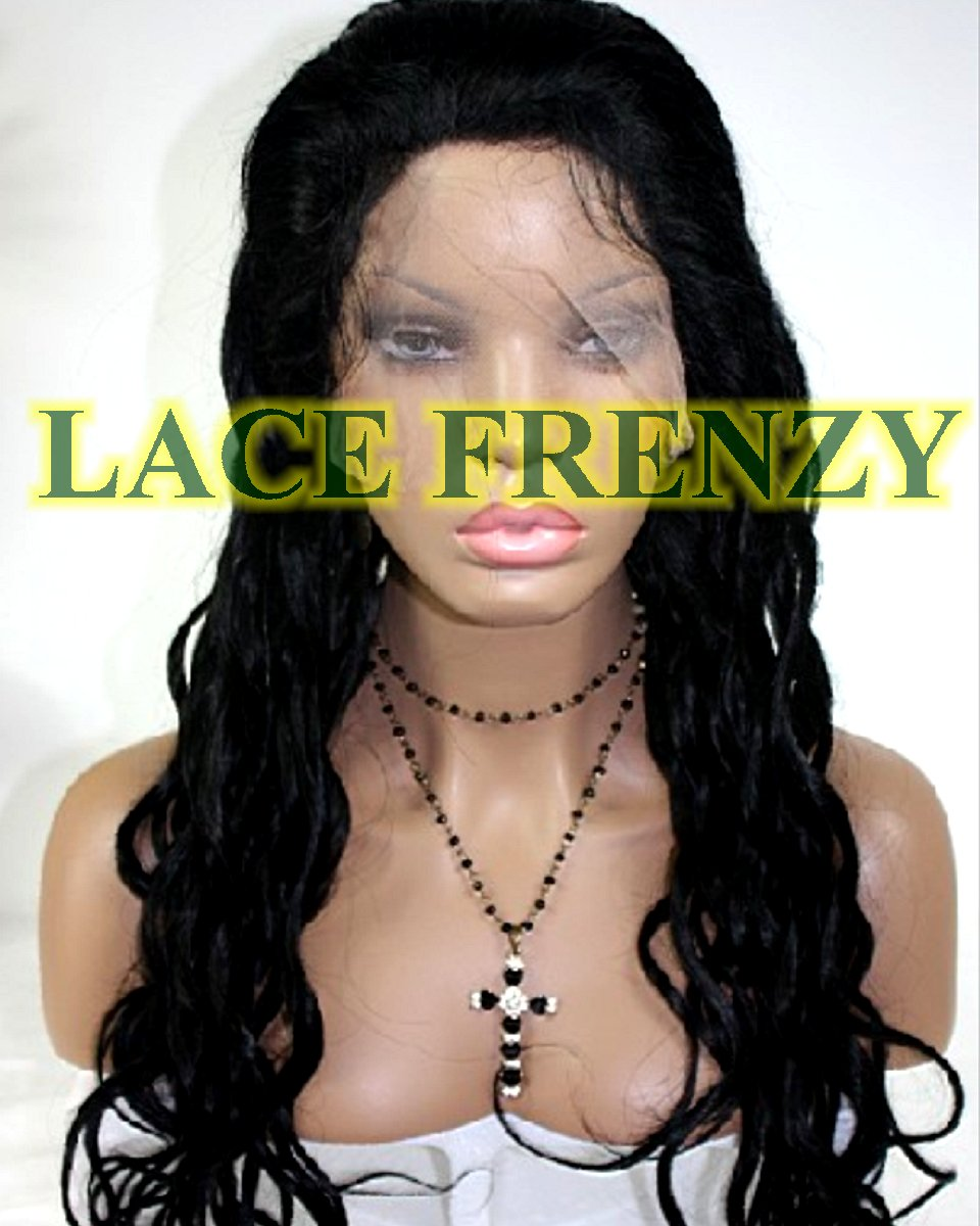 Monica - Wet Curls- Indian Remy Hair - Silk Top Full Lace Wig