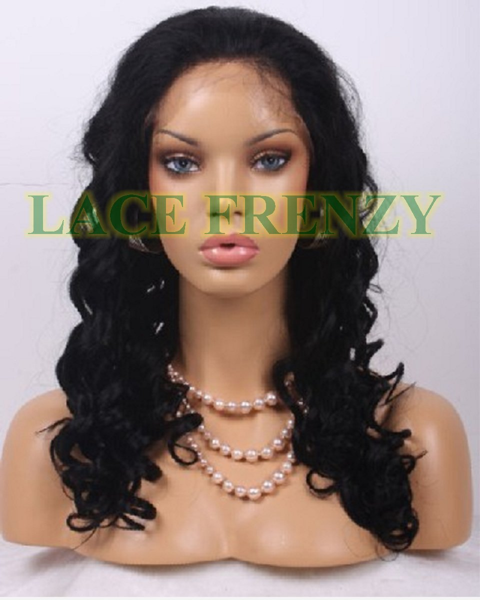 Anna- Loose Curls - Malaysian Virgin Hair - Full Lace Wig