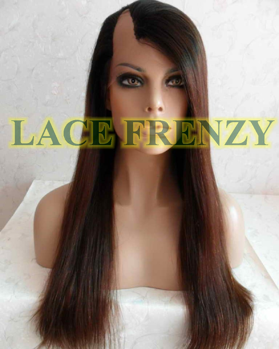 Camay 18 Inches Indian Remy Hair Light Yaki U Part Lace Wig