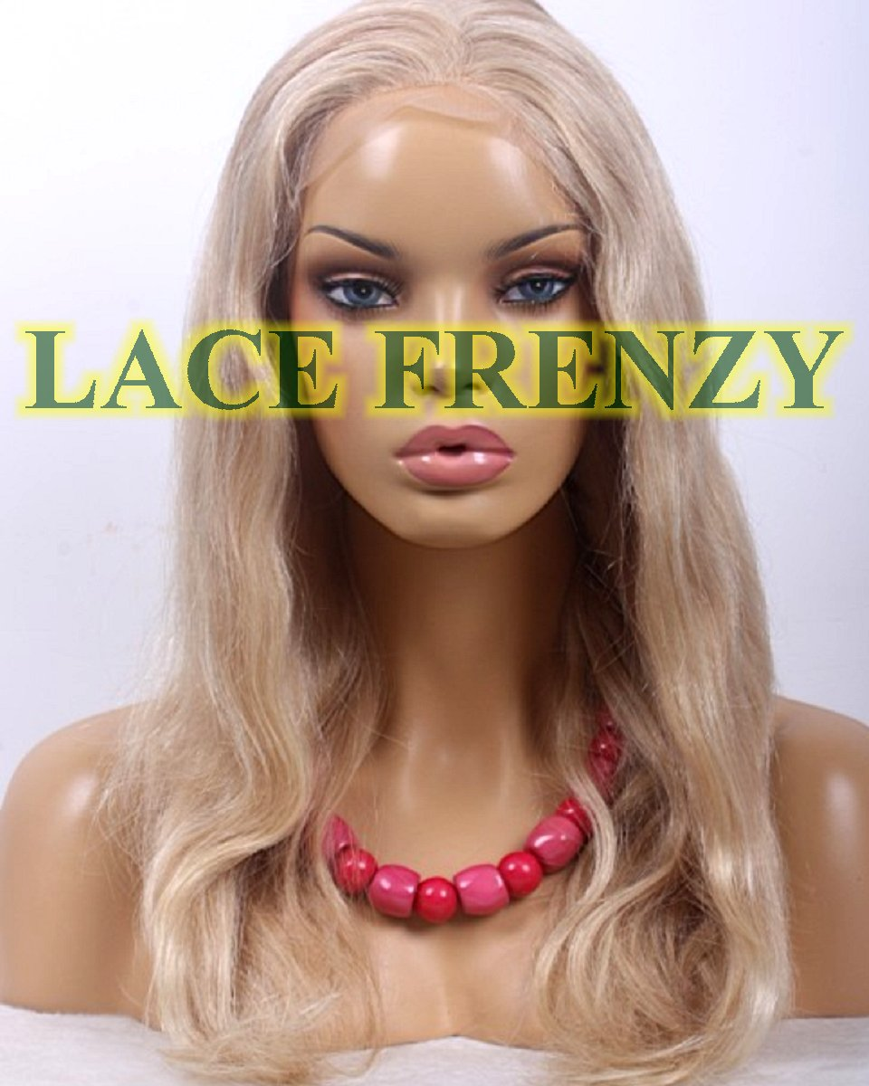 Hailey - 18 Inches - Natural Wavy - European Virgin Hair - Full Lace Wig