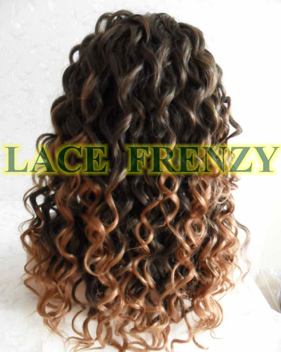 Sonia - 18 Inches - Two Toned - Lace Front Wig