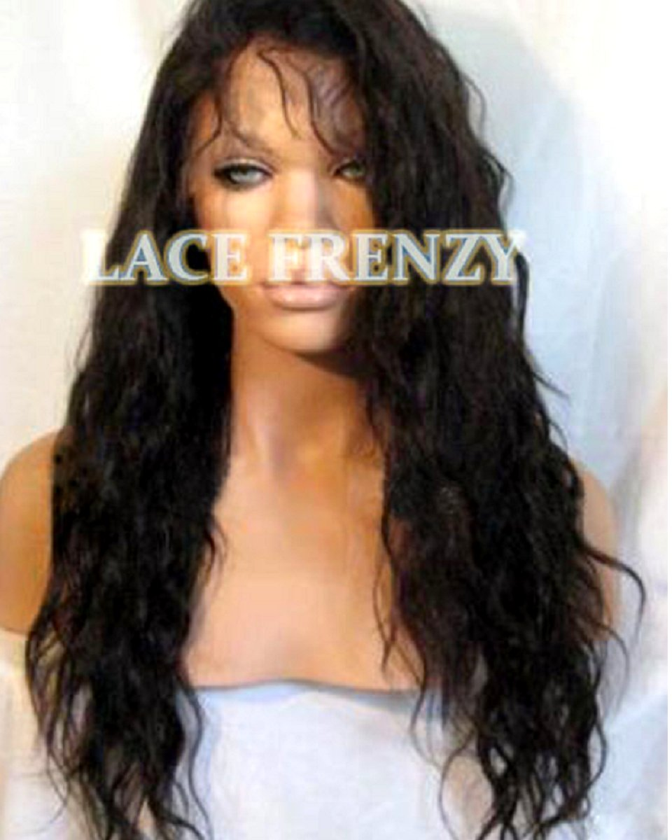 Peyton - Wavy - Indian Virgin Hair - Full Lace Wig
