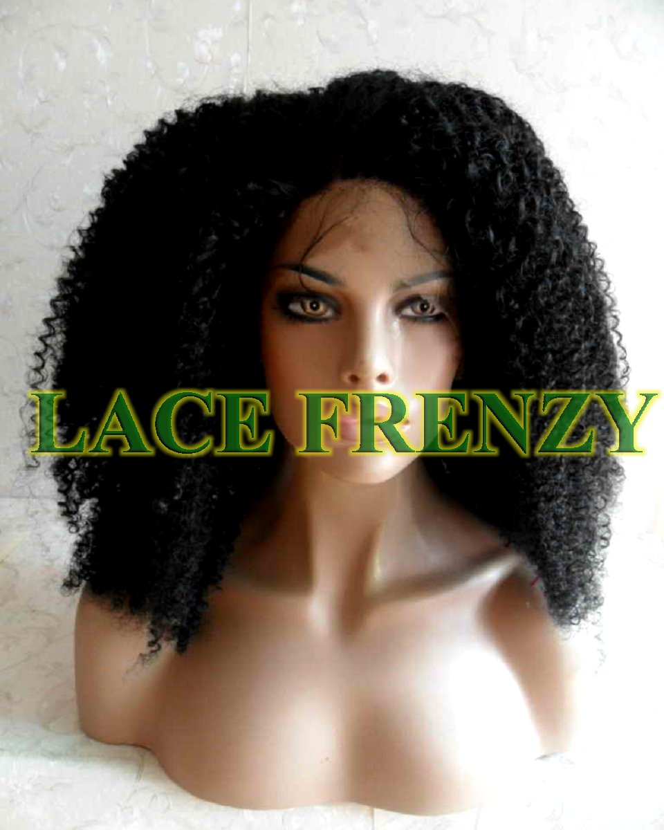 Vaughn - Kinky Curly - Lace Front Wig