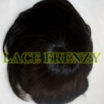 Durable lace men toupee