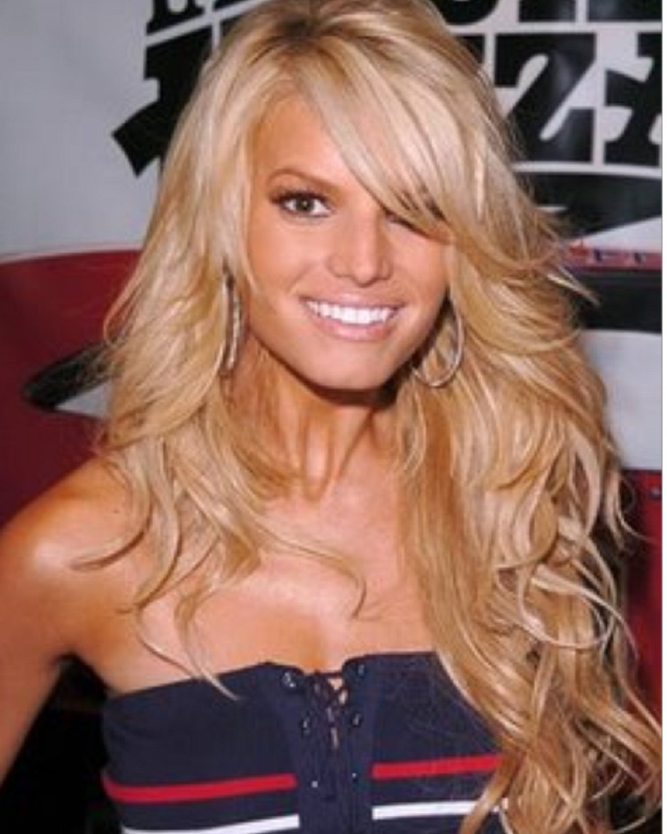 Jessica Simpson - Layered – Custom Celebrity Lace Wig