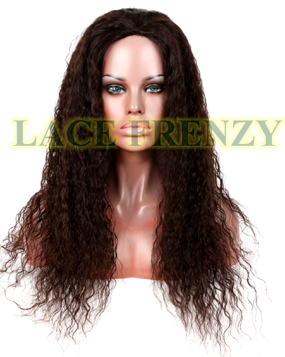 Glue less full lace Brazilian virgin wig