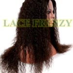 Brazilian Spanish wave Glueless full lace wig