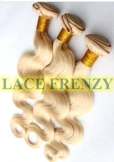Grade 7A Virgin Hair - Blonde - Body Wave - Layered - Machine Weft Bundle Kit