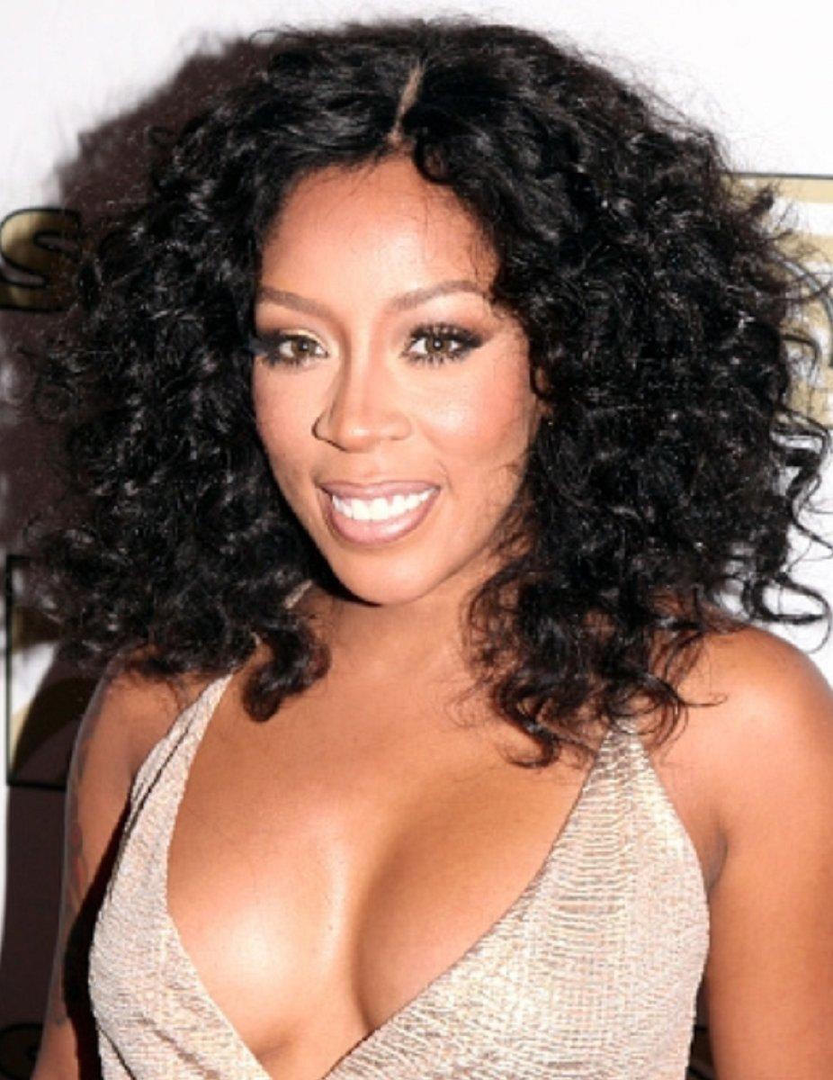 K Michelle Curly Custom Celebrity Lace Wig Lace Frenzy Wig