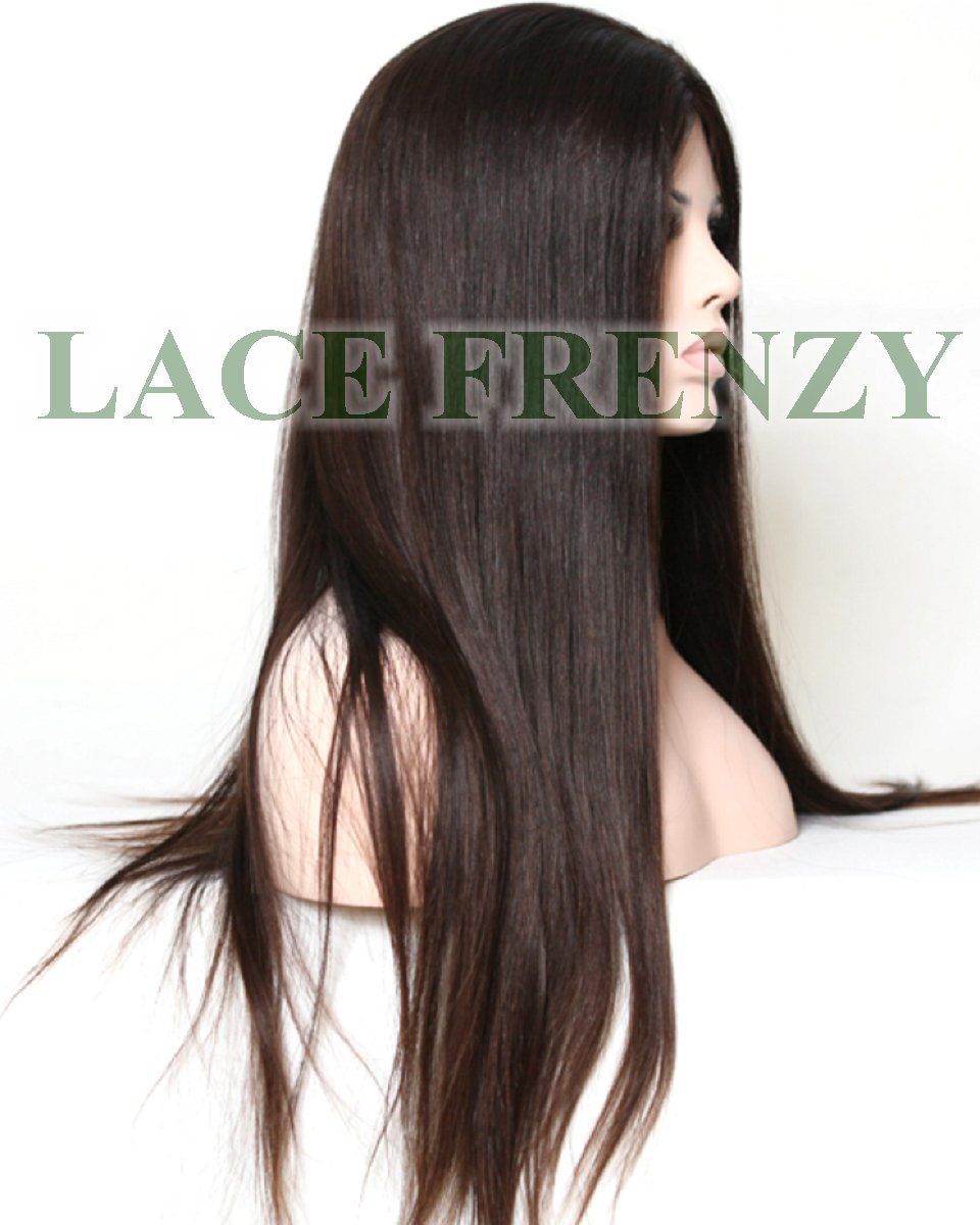Malaysian Virgin Hair - Natural Straight - Full Thin Skin Wig