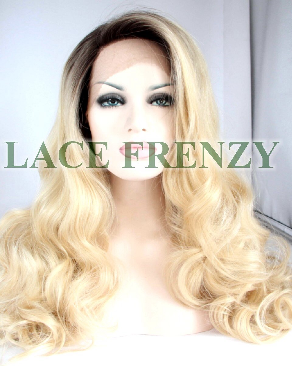 Micaela - Loose Wave - Two Toned - Lace Front Wig