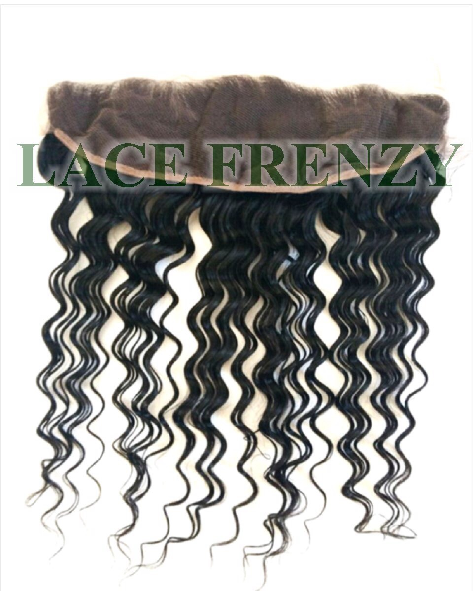 Water Wavy - Grade 8A Virgin Human Hair - Lace Frontal