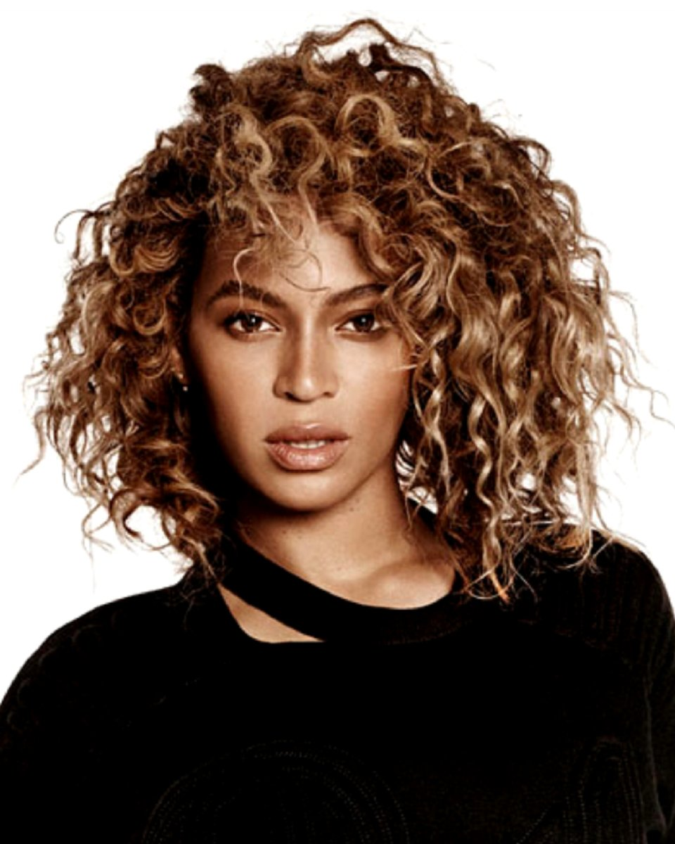 Beyonce - Curly - Custom Celebrity Lace Wig