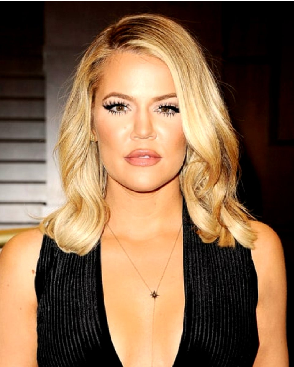 Khloe Kardashian Loose Curl Bob Cut Custom Celebrity