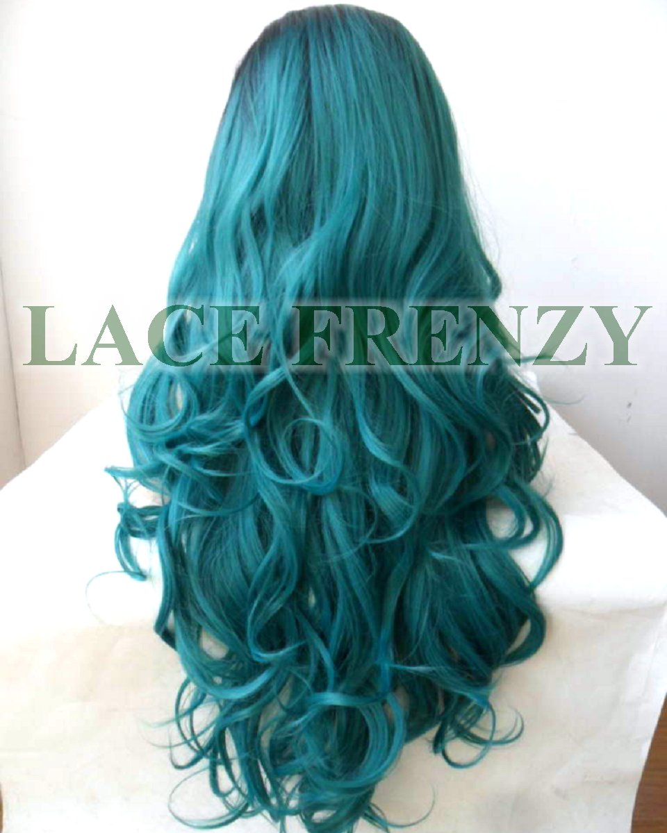 Sangria- Two Toned - Loose Curls - Lace Front Wig